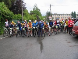 Petyša tour 2005 - start krátká trať