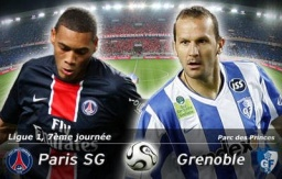 PREVIEW :  PARIS SG : GRENOBLE FOOT - obrázek