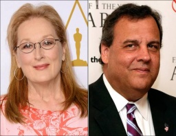 Meryl Streep, Governor Christie