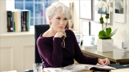 Meryl Streep as Miranda Priestly, 2006 The Devil Wears Prada