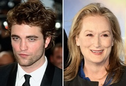 Robert Pattinson, Meryl Streep