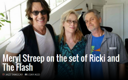 Meryl Streep on the set of Ricki and The Flash   Awards Daily.png