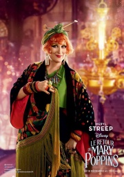 "2018 ""Mary Poppins Returns"" Meryl Streep as Topsy Turvey"
