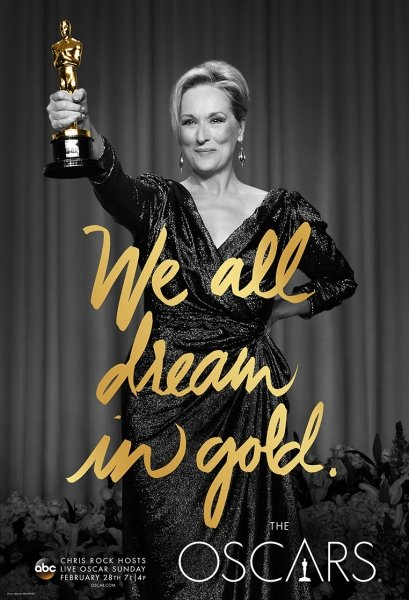 We all dream in gold Oscar promo 2016