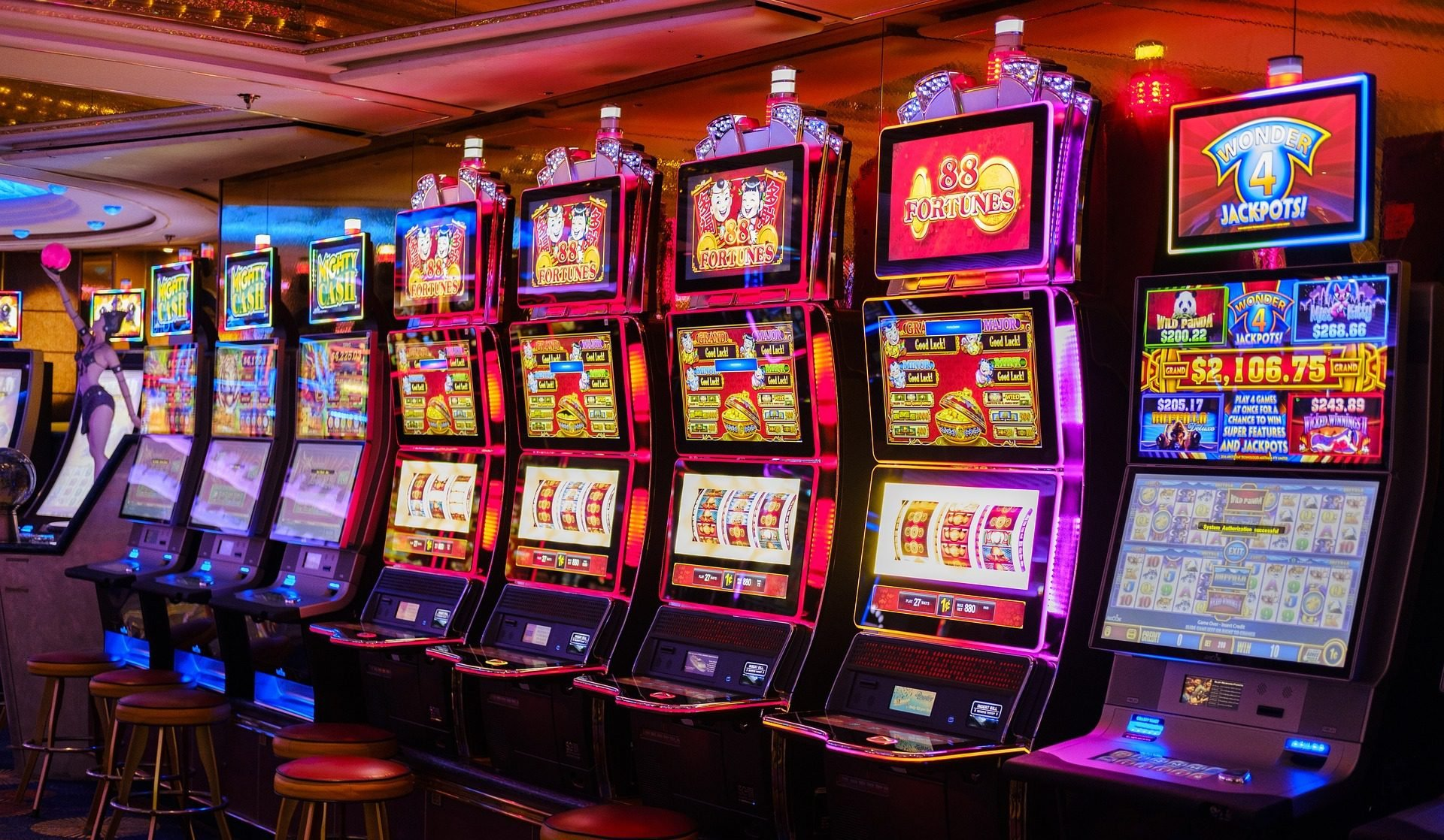 CT casinos report slot revenue increases in January